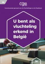 afbeelding brochure voor erkende vluchtelingen geeft informatie over de rechten en plichten