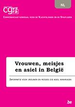 Brochure Vrouwen, meisjes en asiel in België