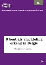 Brochure 'U bent als vluchteling erkend in België'